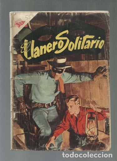 EL LLANERO SOLITARIO 55, 1957, NOVARO, USADO. COLECCIÓN A.T. (Tebeos y Comics - Novaro - El Llanero Solitario)