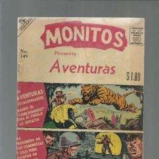 Giornalini: MONITOS 149, 1958, EDITORIAL MONDRAGÓN, BUEN ESTADO. COLECCIÓN A.T.. Lote 167545564