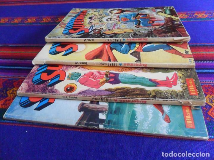 Tebeos: NOVARO SUPERMAN LIBRO COMIC LIBROOMIC NºS V VI VIII Y X 5 6 8 Y 10. 50 PTS. 1974. - Foto 2 - 167570152