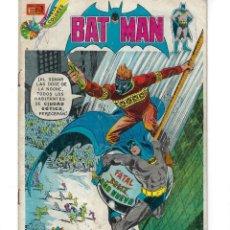 Tebeos: BATMAN - EL HOMBRE MURCIÉLAGO, AÑO XXII, Nº 722, 21 DE FEBRERO DE 1974 ***EDITORIAL NOVARO***. Lote 167674492