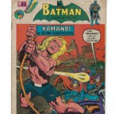 Tebeos: BATMAN - EL HOMBRE MURCIÉLAGO, AÑO XXII, Nº 719, 31 DE ENERO DE 1974 ***EDITORIAL NOVARO***. Lote 167676784
