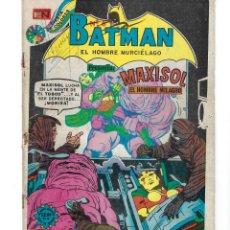 Tebeos: BATMAN - EL HOMBRE MURCIÉLAGO, AÑO XXII, Nº 716, 10 DE ENERO DE 1974 ***EDITORIAL NOVARO***. Lote 179217963