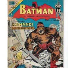 Tebeos: BATMAN - EL HOMBRE MURCIÉLAGO, AÑO XXII, Nº 710, 29 DE NOVIEMBRE DE 1973 ***EDITORIAL NOVARO***. Lote 167683516