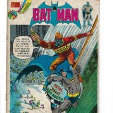 Tebeos: BATMAN - EL HOMBRE MURCIÉLAGO, AÑO XXII, Nº 722, 21 DE FEBRERO DE 1974 ***EDITORIAL NOVARO***. Lote 167674568