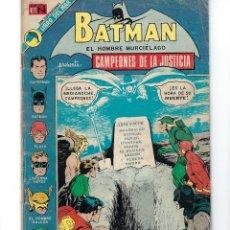 Tebeos: BATMAN - EL HOMBRE MURCIÉLAGO, AÑO XXI, Nº 689, 5 DE JULIO DE 1973 ***EDITORIAL NOVARO***. Lote 167788540