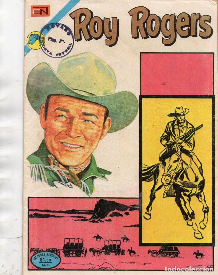 ROY ROGER - AÑO XXI - Nº 285 AÑO 1972 - ROY ROGERS EN LA CABAÑA SOLITARIA (Tebeos y Comics - Novaro - Roy Roger)
