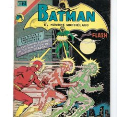 Tebeos: BATMAN - EL HOMBRE MURCIÉLAGO, AÑO XXI, Nº 665, 18 DE ENERO DE 1973 ***EDITORIAL NOVARO***. Lote 167916588