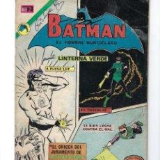 Tebeos: BATMAN - EL HOMBRE MURCIÉLAGO, AÑO XXI, Nº 656, 16 DE NOVIEMBRE DE 1972 ***EDITORIAL NOVARO***. Lote 167921240