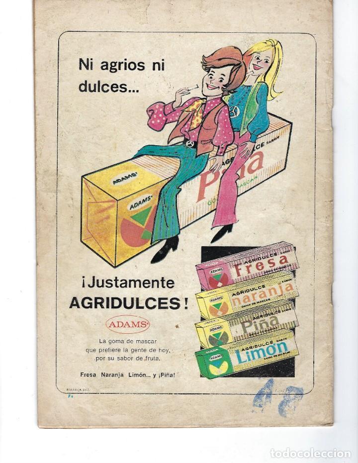 Tebeos: BATMAN - EL HOMBRE MURCIÉLAGO, AÑO XXI, Nº 656, 16 DE NOVIEMBRE DE 1972 ***EDITORIAL NOVARO*** - Foto 2 - 167921240