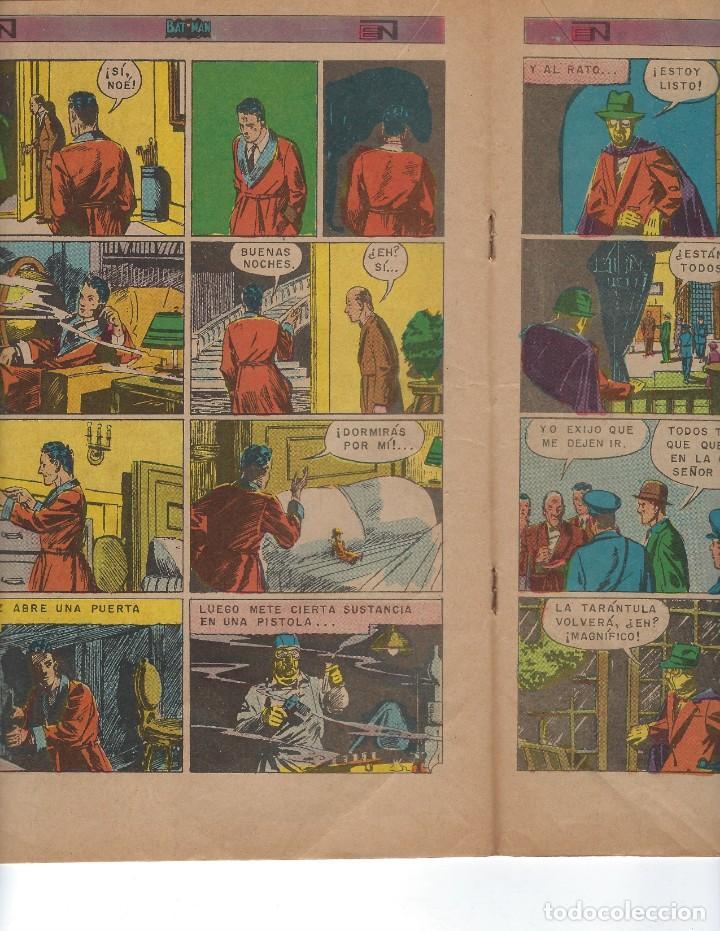 Tebeos: BATMAN - EL HOMBRE MURCIÉLAGO, AÑO XXI, Nº 656, 16 DE NOVIEMBRE DE 1972 ***EDITORIAL NOVARO*** - Foto 4 - 167921240