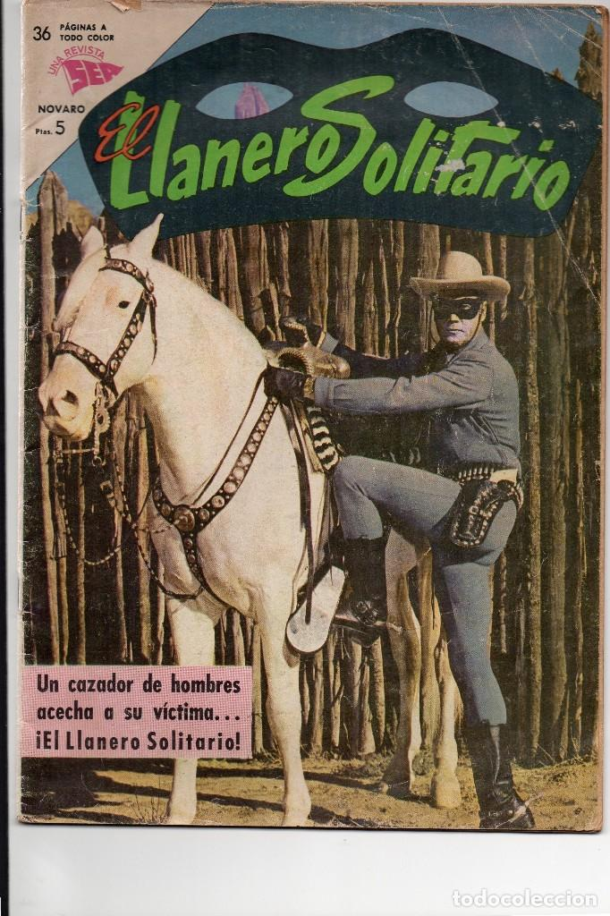 EL LLANERO SOLITARIO Nº 36, UNA REVISTA SEA, NOVARO (Tebeos y Comics - Novaro - El Llanero Solitario)