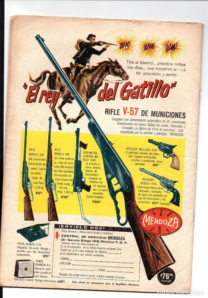 Tebeos: el llanero solitario nº 36, una revista sea, novaro - Foto 3 - 168088596