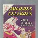 Tebeos: MUJERES CELEBRES 31: MARÍA ESTUARDO, 1963, NOVARO, BUEN ESTADO. COLECCIÓN A.T.. Lote 168259792