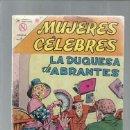 Tebeos: MUJERES CELEBRES 34: LA DUQUESA DE ABRANTES, 1964, NOVARO. COLECCIÓN A.T.. Lote 168259940