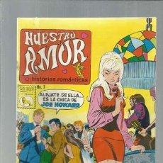 Livros de Banda Desenhada: NUESTRO AMOR 7, 1972, LA PRENSA, USADO. COLECCIÓN A.T.. Lote 168261780