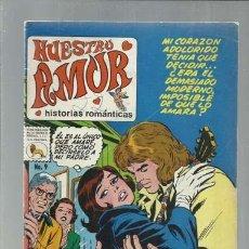 Livros de Banda Desenhada: NUESTRO AMOR 9, 1972, LA PRENSA. COLECCIÓN A.T.. Lote 168261948