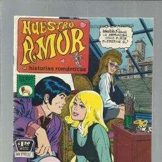 Livros de Banda Desenhada: NUESTRO AMOR 12, 1972, LA PRENSA, BUEN ESTADO. Lote 168262304