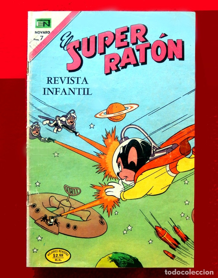 SUPER RATÓN Nº 271, 1974 - NÚMERO ESPECIAL, EDITORIAL NOVARO, - ORIGINAL - DIFÍCIL (Tebeos y Comics - Novaro - Otros)
