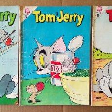 Tebeos: LOTE TOM Y JERRY, NÚMEROS 135-219-220 (SOCIEDAD EDITORA AMÉRICA/NOVARO, 1960/1965).. Lote 168420314