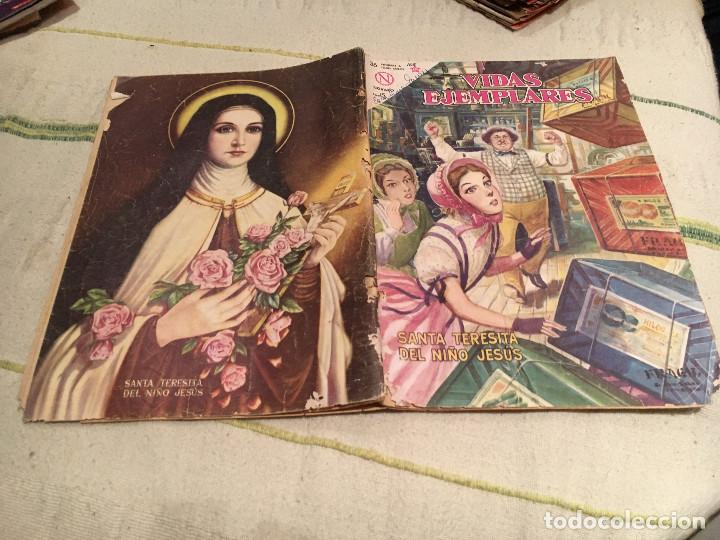 VIDAS EJEMPLARES SANTA TERESITA DEL NIÑO JESUS , NUM 165, EDT NOVARO 1964 (Tebeos y Comics - Novaro - Vidas ejemplares)