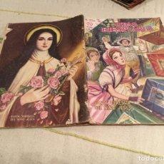 Tebeos: VIDAS EJEMPLARES SANTA TERESITA DEL NIÑO JESUS , NUM 165, EDT NOVARO 1964. Lote 168474008