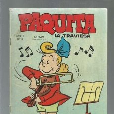 Tebeos: PAQUITA LA TRAVIESA 6, LORD COCHRANE, BUEN ESTADO. COLECCIÓN A.T.. Lote 168527128