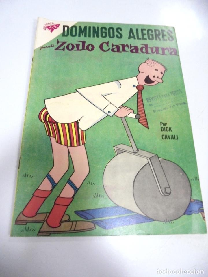 TEBEO. DOMINGOS ALEGRES. ZOILO CARADURA. AÑO V. Nº 249. (Tebeos y Comics - Novaro - Domingos Alegres)