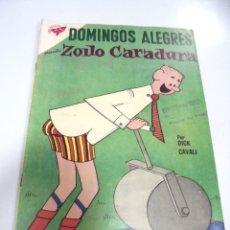 Tebeos: TEBEO. DOMINGOS ALEGRES. ZOILO CARADURA. AÑO V. Nº 249.. Lote 168670768