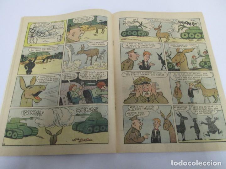 Tebeos: DOMINGOS ALEGRES. FRANCISQUITO. EL MULO PARLANCHIN. Nº 321. 1960. EDITORIAL NOVANO - Foto 6 - 168713196