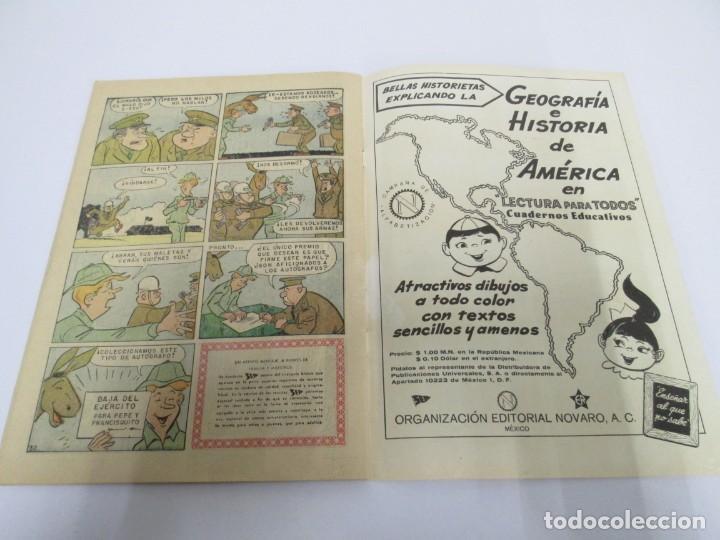 Tebeos: DOMINGOS ALEGRES. FRANCISQUITO. EL MULO PARLANCHIN. Nº 321. 1960. EDITORIAL NOVANO - Foto 8 - 168713196