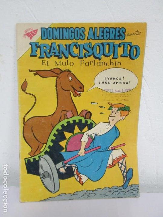 DOMINGOS ALEGRES. FRANCISQUITO. EL MULO PARLANCHIN. Nº 321. 1960. EDITORIAL NOVANO (Tebeos y Comics - Novaro - Domingos Alegres)