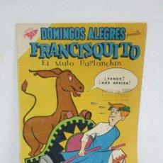 Tebeos: DOMINGOS ALEGRES. FRANCISQUITO. EL MULO PARLANCHIN. Nº 321. 1960. EDITORIAL NOVANO. Lote 168713196