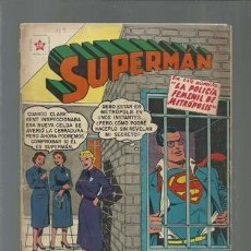 Tebeos: SUPERMAN 113, 1957, NOVARO. Lote 168802868