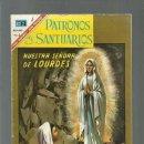 Tebeos: PATRONOS Y SANTUARIOS 7: NUESTRA SEÑORA DE LOURDES, 1967, MUY BUEN ESTADO. COLECCIÓN A.T.. Lote 168805876