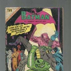 Tebeos - Batman 464: los hombres de metal, 1969, Novaro - 169214046