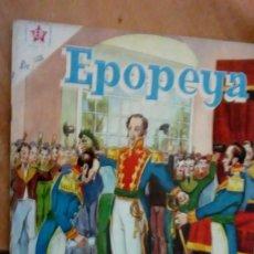 Tebeos: EPOPEYA N.4 1958 SIMON BOLIVAR -AYACUCHO-. Lote 169241012