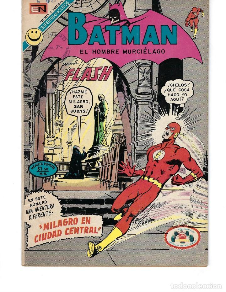 BATMAN - EL HOMBRE MURCIÉLAGO, AÑO XX, Nº 630, 18 DE MAYO DE 1972 ***EDITORIAL NOVARO*** (Tebeos y Comics - Novaro - Batman)