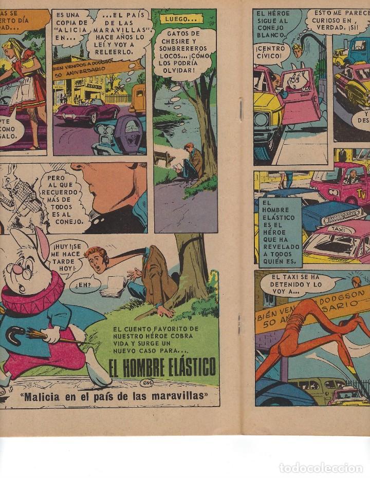 Tebeos: BATMAN - EL HOMBRE MURCIÉLAGO, AÑO XX, Nº 630, 18 DE MAYO DE 1972 ***EDITORIAL NOVARO*** - Foto 4 - 169296768
