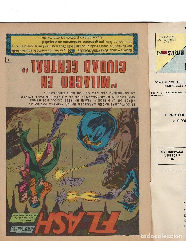 Tebeos: BATMAN - EL HOMBRE MURCIÉLAGO, AÑO XX, Nº 630, 18 DE MAYO DE 1972 ***EDITORIAL NOVARO*** - Foto 5 - 169296768