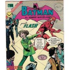 Tebeos: BATMAN - EL HOMBRE MURCIÉLAGO, AÑO XX, Nº 624, 6 DE ABRIL DE 1972 ***EDITORIAL NOVARO***. Lote 169297196