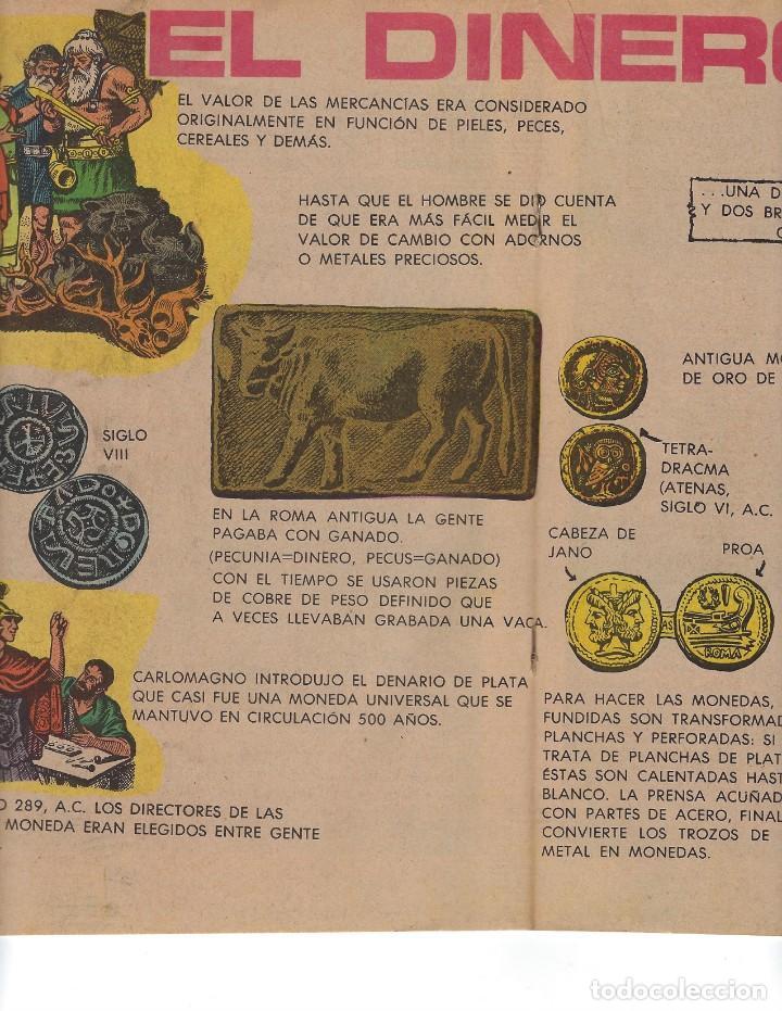 Tebeos: BATMAN - EL HOMBRE MURCIÉLAGO, AÑO XX, Nº 624, 6 DE ABRIL DE 1972 ***EDITORIAL NOVARO*** - Foto 4 - 169297196