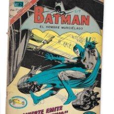 Tebeos: BATMAN - EL HOMBRE MURCIÉLAGO, AÑO XX, Nº 619, 2 DE MARZO DE 1972 ***EDITORIAL NOVARO***. Lote 169297632