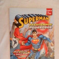 Tebeos: SUPERMAN , PASATIEMPOS PODEROSOS . Lote 169354616