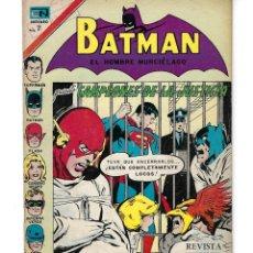 Tebeos: BATMAN - EL HOMBRE MURCIÉLAGO, AÑO XX, Nº 602, 4 DE NOVIEMBRE DE 1971 ***EDITORIAL NOVARO***. Lote 169378600