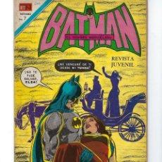Tebeos: BATMAN - EL HOMBRE MURCIÉLAGO, AÑO XIX, Nº 600, 21 DE OCTUBRE DE 1971 ***EDITORIAL NOVARO***. Lote 169382840