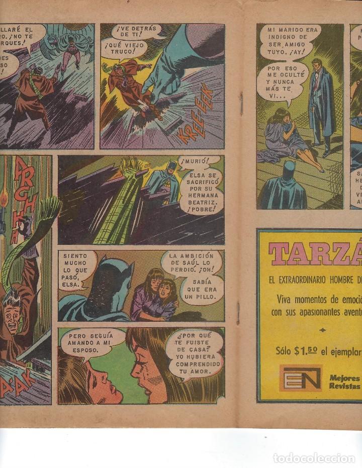 Tebeos: BATMAN - EL HOMBRE MURCIÉLAGO, AÑO XIX, Nº 600, 21 DE OCTUBRE DE 1971 ***EDITORIAL NOVARO*** - Foto 4 - 169382840