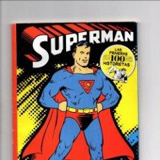 Tebeos: SUPERMAN - LAS PRIMERAS 100 HISTORIETAS COMPLETE COLLECTION ARGENTINA 2011. Lote 189481865