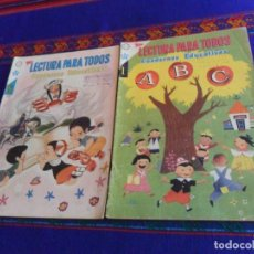 Tebeos: NOVARO LECTURA PARA TODOS CUADERNOS EDUCATIVOS NºS 1 Y 8. SEA 1959. . Lote 169444576