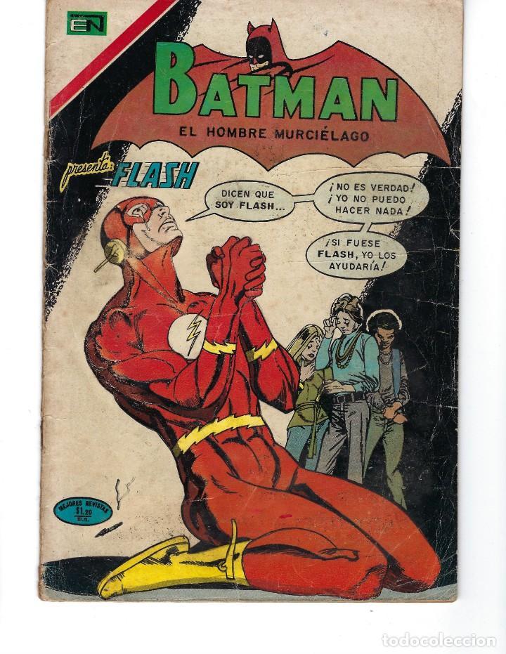 BATMAN - EL HOMBRE MURCIÉLAGO, AÑO XIX, Nº 599, 14 DE OCTUBRE DE 1971 ***EDITORIAL NOVARO*** (Tebeos y Comics - Novaro - Batman)