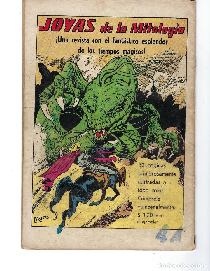Tebeos: BATMAN - EL HOMBRE MURCIÉLAGO, AÑO XIX, Nº 599, 14 DE OCTUBRE DE 1971 ***EDITORIAL NOVARO*** - Foto 2 - 169545448